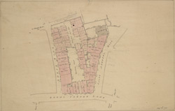 [Plan of the Royal Wardrobe Estate in Great Carter Lane]